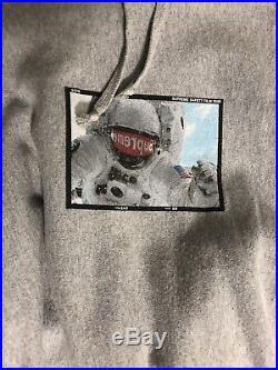 Supreme Astronaut hoodie SS15 Grey Size M box Logo TNF Cdg Jacket Ss V S logo