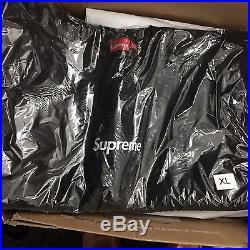 Supreme BOGO Crewneck Size XL Black Sealed in Bag Crew Neck Sweatshirt box logo
