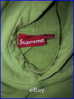 Supreme BOGO Fw17 Sage Box Logo Hoodie
