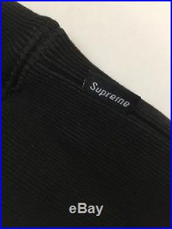 Supreme BOX LOGO Hooded Sweatshirt BLACK FW 16 SIZE Medium