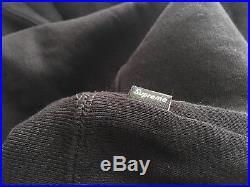 Supreme BOX LOGO Hooded Sweatshirt BLACK FW 16 SIZE SMALL