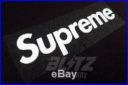 Supreme BOX LOGO TEE SHIRT BLACK L XL F&F promo sample 20th
