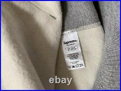 Supreme Bandana Box Logo Hooded Size L Gray Hoodie