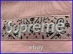 Supreme Bandana Box Logo Hooded Size L Pale rose Hoodie