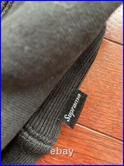 Supreme Bandana Box Logo Hooded Size S Black Hoodie