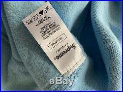 Supreme Bandana Box Logo Hooded Size XL Color Blue Hoodie