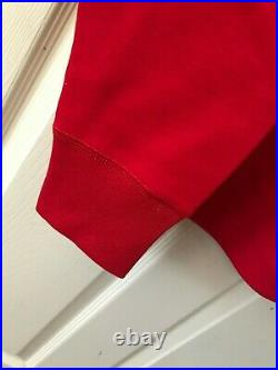 Supreme Bandana Box Logo Hooded Sweatshirt Red Medium