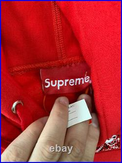 Supreme Bandana Box Logo Hooded Sweatshirt Red XL