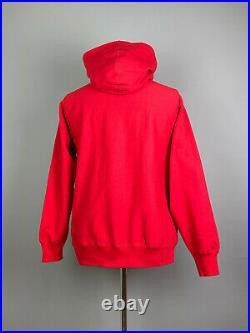 Supreme Bandana Box Logo Hoodie FW19 Red Size M