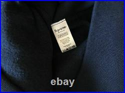 Supreme Bandana Box Logo Hoodie Navy Size Medium