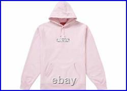 Supreme Bandana Box Logo Hoodie Pink, XL