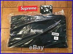 Supreme Bandana Box Logo Navy Paisley Hoodie Size Medium In Hand