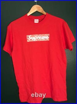 Supreme Bandana Box Logo Tee Shirt Small
