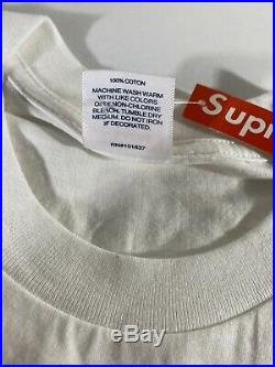 Supreme Bandana Box Logo Tee White Medium