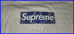 Supreme Bandana Box Logo Tee XL Authentic