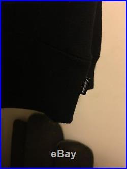 Supreme Black Box Logo Hoodie