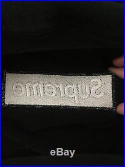 Supreme Black Box Logo Hoodie 100%AUTHENTIC Bape Palace