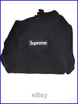 Supreme Black Box Logo Hoodie FW 16 SIZE L
