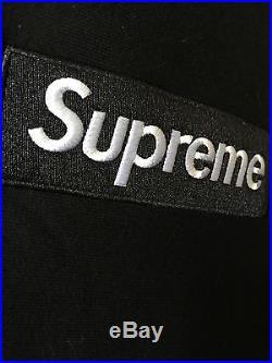 Supreme Black Box Logo Hoodie L