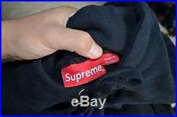 Supreme Black Box Logo Hoodie Size Small