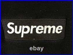 Supreme Black Box Logo Hoodie Size XL