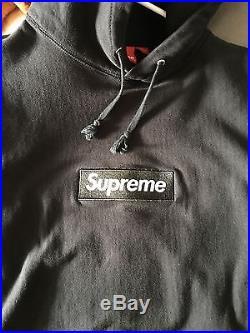 Supreme Black Box Logo Hoodie XL