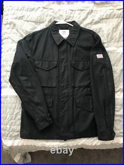 Supreme Black M51 SS 2010 leopard Box logo Jacket Size L