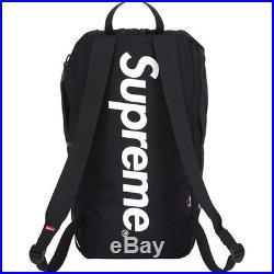 Supreme Black Mesh Backpack 500 Denier Cordura Box Logo Thrasher