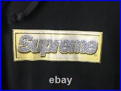 Supreme Bling Box Logo Hoodie Black 2013 Size XL BOGO Authentic