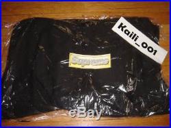 Supreme Bling Logo Pullover XLarge Black Hoody Box Logo NF CDG PLC Floral B