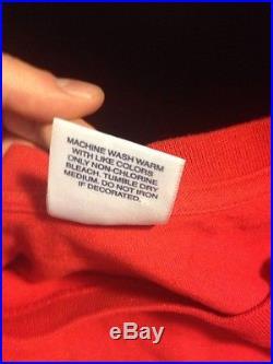 Supreme Bling Shirt XL brand New Dead stock Red SS2013 Box Logo Tee