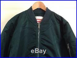 Supreme Blood Chit Reversible Ma-1 Military Jacket Blue Box Logo M65 A2 Deck XL