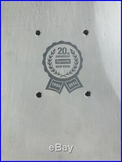 Supreme Box Logo 20th Anniversary Deck Skateboard