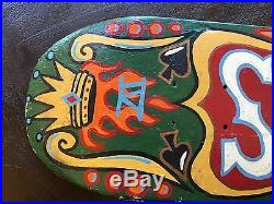 Supreme Box Logo Aaron Rose Hand Painted Deck 1/1