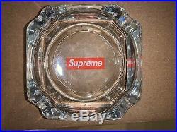 Supreme Box Logo Ash Tray Glass