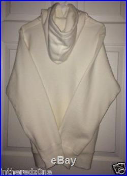 Supreme Box Logo Authentic Pullover Hoodie White Size Medium FW 2012 NEW