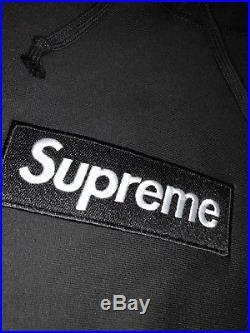 Supreme Box Logo BOGO Hoodie Black LARGE