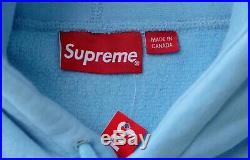 Supreme Box Logo Bandana Blue Hoodie 2019 11 Rep