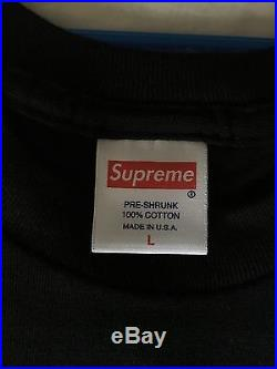 Supreme Box Logo Black/Black F&F