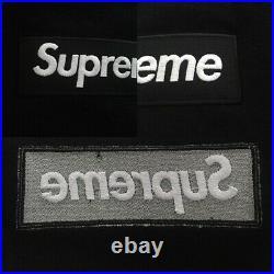 Supreme Box Logo Black Crewneck, Men Medium, FW18, Brand New, Sweatshirt, Hoodie