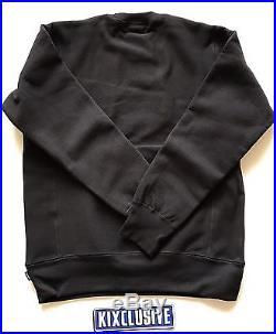 Supreme Box Logo Bogo Crewneck Black Black size M-L Fall Winter 2015 Brand New
