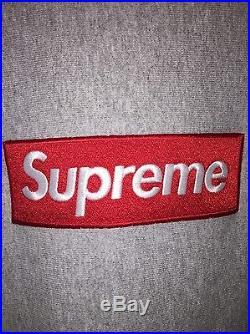 Supreme Box Logo Crew FW15 Super Rare! Large