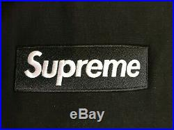 Supreme Box Logo Crewneck Black FW 18 M Medium