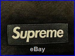 Supreme Box Logo Crewneck FW18 Black Medium New M
