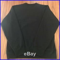 Supreme Box Logo Crewneck FW18 Black Size Large (L)