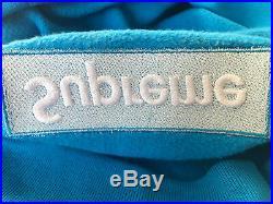 Supreme Box Logo Crewneck FW18 Bright Royal Blue Size XL