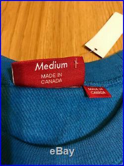 Supreme Box Logo Crewneck FW18 Royal Blue Medium M