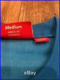 Supreme Box Logo Crewneck FW18 Royal Blue SZ Medium