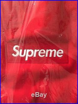 Supreme Box Logo Crewneck Red XL F/W15