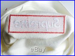 Supreme Box Logo Crewneck Sweater F/W 2015 White Size Medium